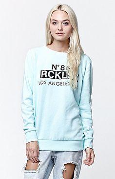 Blocked Jillionaire Crew Fleece Sweatshirt