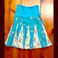 Custo Barcelona Print Zipper Skirt Size 2 Great condition! Full zipper throughout skirt. Custo Barcelona Skirts A-Line or Full
