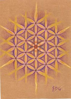 "Mandala ""La flor de la vida"""