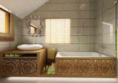 Image detail for -Small but glam bathroom - Interior Design Blog