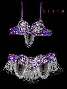 Traje Danza Arabe Belly Dance Outfit, Belly Dance Costumes, Tribal Dance, Beautiful Costumes, Dance Fashion, Beaded Top, Belly Dancers, Rave Outfits, Just Dance