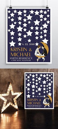 Wedding Gift for Couple - Wedding Welcome Poster - Wedding Reception Sign - Wedding Guestbook - Art Print