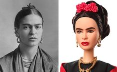 A temporary injunction has been issued against marketing or selling Mattel's doll of the famous Surrealist artist until a dispute over rights to her image is resolved.