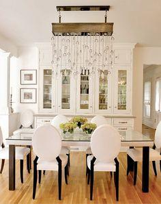 Stunning Dining Room. South Shore Decorating Blog: Rachael Reider