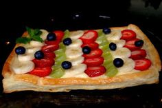 Oddly Healthy Fruit Tart