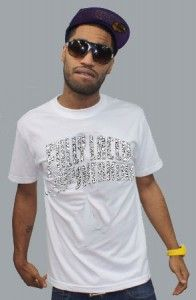Fully Laced – The Fully Laced Sneakers Tee (Wht/Ele)