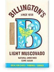 BILLINGTON'S cukier trzcinowy jasny MUSCOVADO 500g