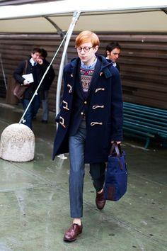 toggle Duffle coat