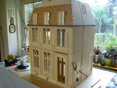 ♥ Pipi's miniatures ♥: Making of - Das Léa Haus 8