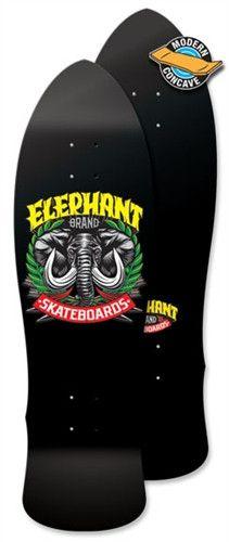 Elephant Brand Skateboards - Street Axe LG - Black Axe Deck