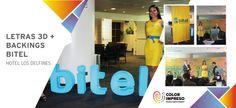 @colorimpresosac 1er Aniversario #Bitel agradecemos a @inteligenciacreativabtl por su constante confianza en nuestro trabajo.