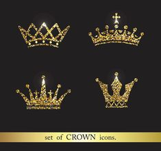 Crown Drawing, Crown Art, Creative Icon, Creative Products, Sell My Art, Gold Crown, Graphic Design Inspiration, Business Fashion, Design Elements