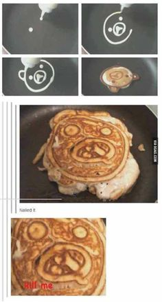 Piggy pancakes? Shouldn't be too hard...