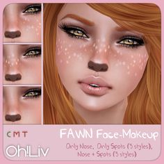 fawn makeup - Google Search