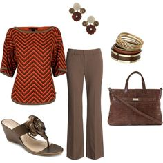 Business Casual Fall, created by erin-bobzien-blankespoor on Polyvore
