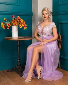 Rochie lunga de seara  din dantela brodata si tulle fin Formal Dresses, Style, Fashion, Formal Gowns, Moda, Fashion Styles, Formal Dress, Gowns, Fashion Illustrations