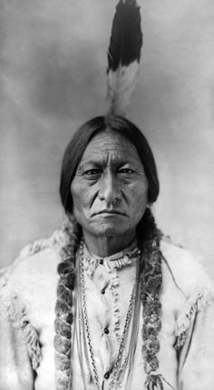 Tattoo of Sitting Bull on my forearm.