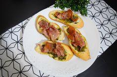 Brusqueta Pesto&Parma  www.apequenacozinha.com