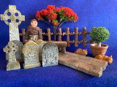 Churchyard Miniatures - Vivid Arts Miniature World - Fairy Garden Miniatures New