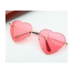 080949968 Heart sunglasses Óculos De Coração, Óculos De Sol Feminino, Usando Óculos,  Oculos De