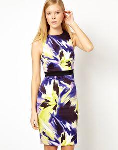 Starry Dress in Modern Ethnic Print