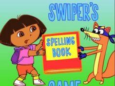 Dora The Explorer Swiper's Spelling Book Animation Nick Jr Nickjr Game P...