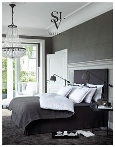 Luxury. Love the shades of gray. Perfect for old wooden floors. Missing a little stash on the walls...