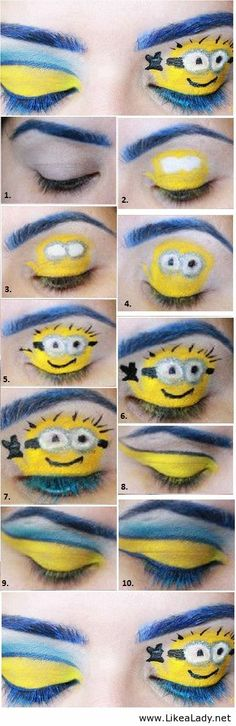 Despicable me 2 - Makeup look