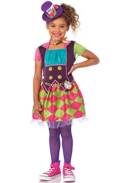 Mad Hatter Child Costume #aliceinwonderland #Halloween #costumes