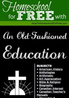 Give your kids an old-fashioned (and well-rounded) education with this FREE homeschool curriculum!