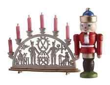 Bodo Hennig 26888 Schwibboden und Nußknacker Weihnachten Puppenhaus Puppenstube