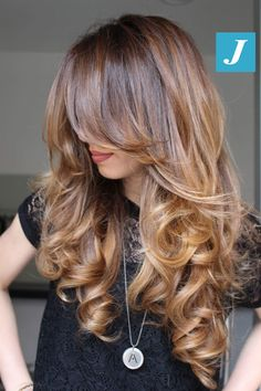 Extraordinary, original, different things _ Degradé Joelle & Taglio Punte Aria . , different hair styles Hair Color Balayage, Ombre Hair, Summer Hairstyles, Pretty Hairstyles, Layered Haircuts, Great Hair, Hair Today, Gorgeous Hair, Hair Looks