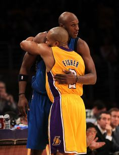 Family reunion...why did we trade Odom again  Lakers Girls 3c8f3a9df