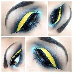 Matte sunny yellow loose eyeshadow