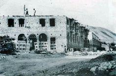 Construcción del barrio Virgen de la Cabeza. Años 50.