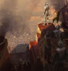 Spanish conquistadors in Mexico