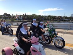Silly Sisters at Daytona Beach Bike Week!