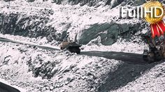 Mining of Iron Ore in Career #AerialView, #BigWheels, #Carbon, #Charcoal, #Coal, #DumpTruck, #Elay21Stock, #ExcavatorUnloading, #Excavators, #Industry, #Mine, #Offroad, #Quarry, #QuarryTruck, #Rock, #RockDumping http://goo.gl/RBLoMC