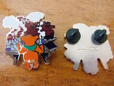 Grateful Dead Hat Pins | Grateful Dead Owsley Bear Chemistry Pin by ShakedownEmporiumLLC