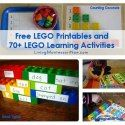 http://livingmontessorinow.com/2013/06/20/free-lego-printables-and-70-plus-lego-learning-activities/
