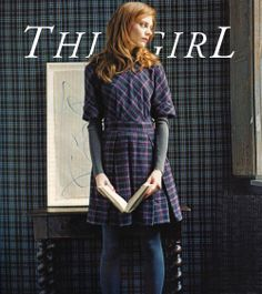 This Girl & going behind the scenes tartan wall