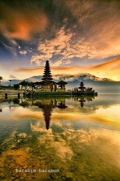 Pura Bratan, is a major Shivaite and water temple on the island of Bali, Indonesia.