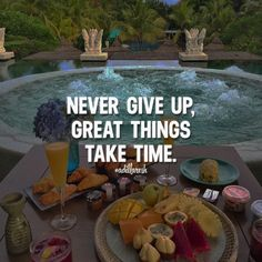 Never give up, great things take time. Like this? Let us know, follow and share it with your friends! ➡️ @freshsnd for pop culture photos! #adillaresh #quotes #quote #success #motivation #inspiration #quoteoftheday #saying #proverb #wisdom #thoughts #motivatingquotes #lifequotes #life