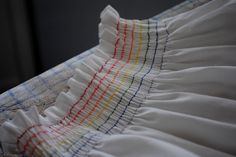 rainbow smocked sundress tutorial   kojodesigns