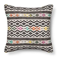 Global Throw Pillow Black/Multi - – Threshold™ : Target