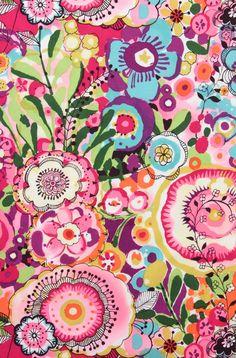 Alexander Henry Fabric Larkspur Bloom Cotton Lawn By the Yard New Detash. $10.00, via Etsy.