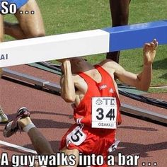 So a guy walks into a bar...