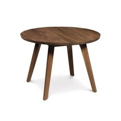 We can't count the potential uses of this tasteful Warwick Walnut Round Side Table. Elegant in its simplicity, this lovely table is crafted from certified sustainable walnut wood glazed in a low-sheen ...  Find the Warwick Walnut Round Side Table, as seen in the The Great Indoors  Collection at http://dotandbo.com/collections/2015-trends-the-great-indoors?utm_source=pinterest&utm_medium=organic&db_sku=100056