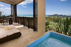 Sugar Ridge Antigua-Room with private plunge pool