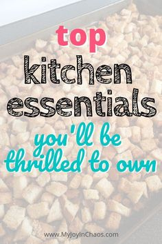 Essential tools for your kitchen (that you won't want to live without) — My Joy in Chaos Kitchen Tops, Toy Kitchen, Kitchen Aid Mixer, Kitchen Ideas, Essential Kitchen Tools, Must Have Kitchen Gadgets, Without Me, Frugal Tips, Kitchen Essentials
